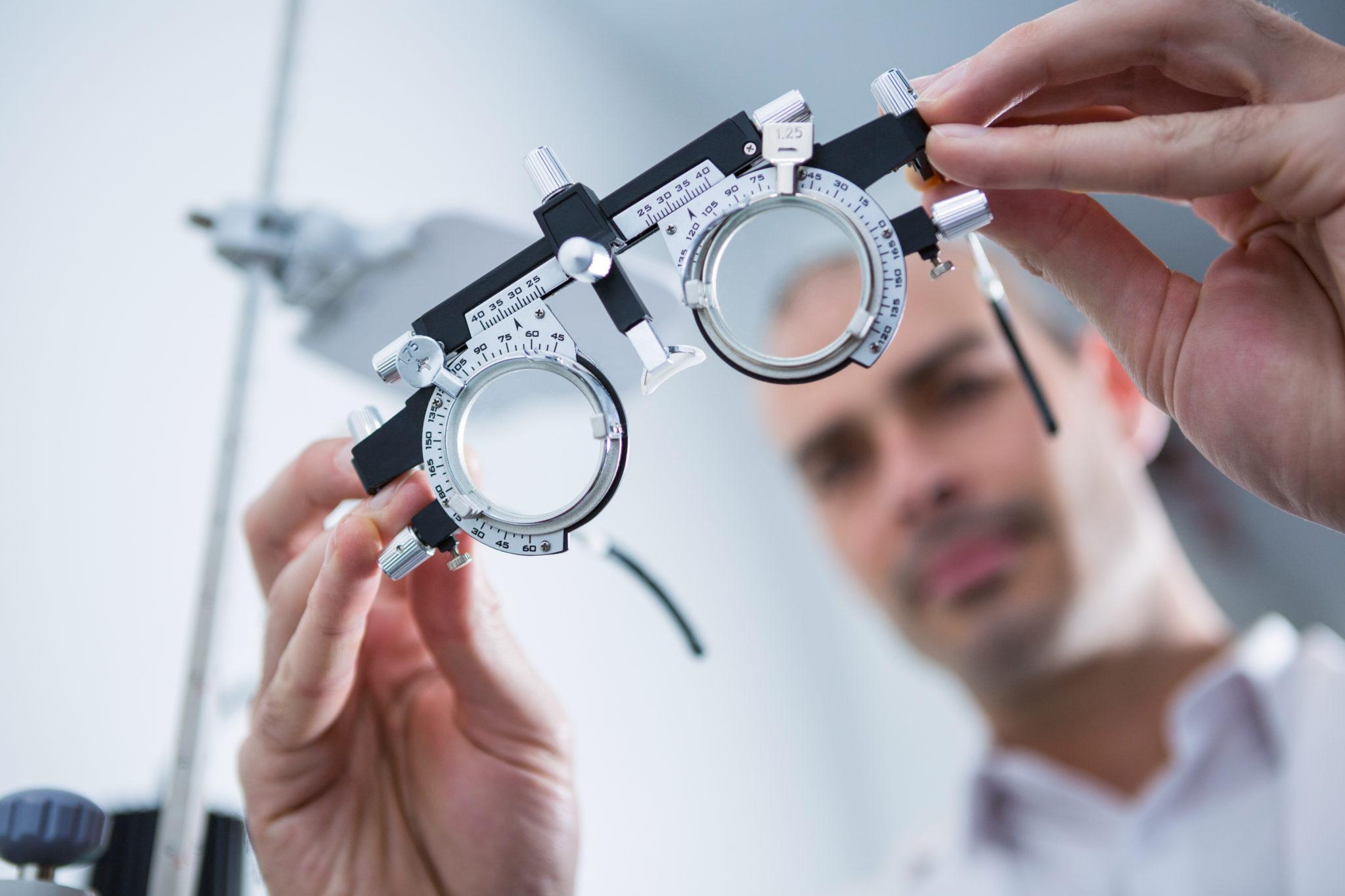 okulary do badania wzroku